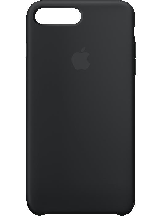Apple iPhone 7 Plus Silicone Case Svart