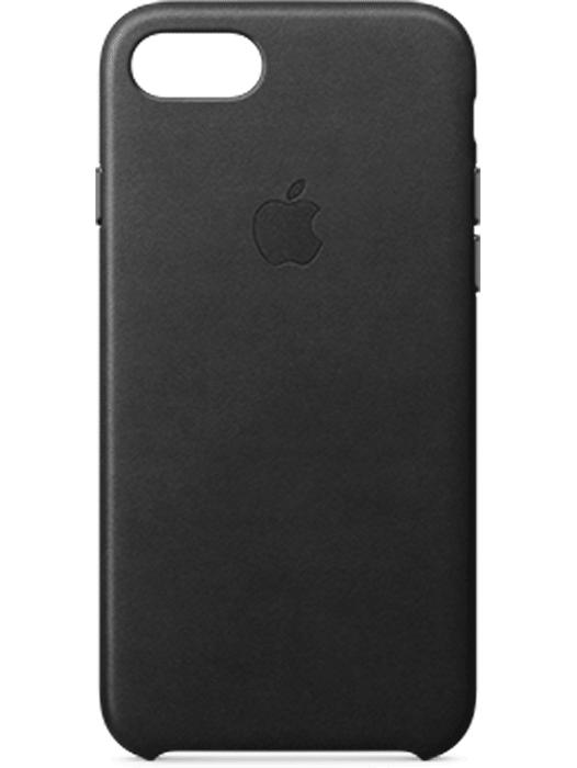 Apple iPhone 7 Leather Case Svart