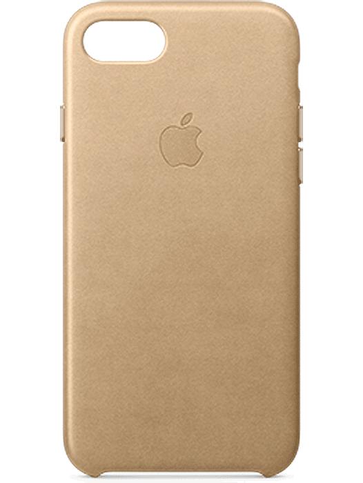 Apple iPhone 7 Leather Case Lys brun