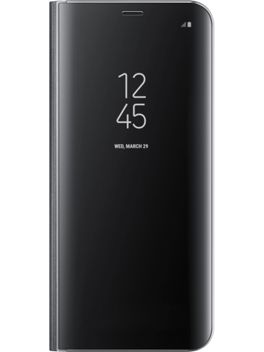 Samsung Clear View Cover Galaxy S8 Svart
