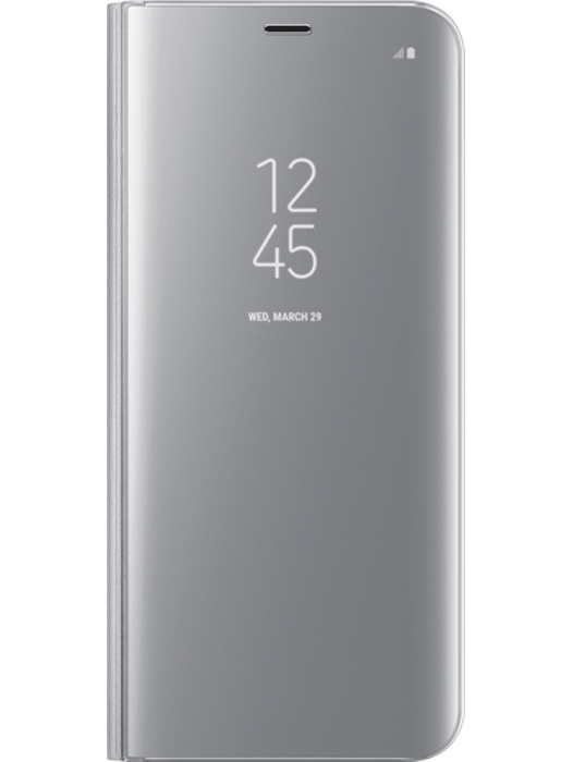 Samsung Clear View Cover Galaxy S8 Sølv