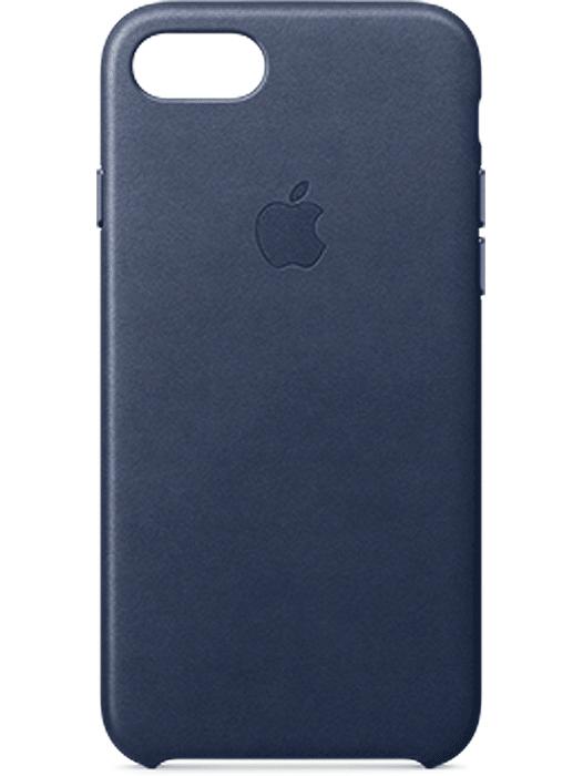 Apple iPhone 7 Leather Case Mørk blå