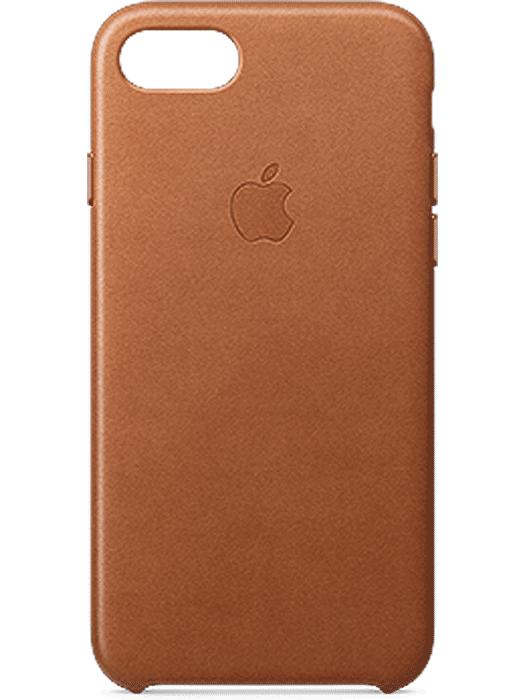 Apple iPhone 7 Leather Case Brun