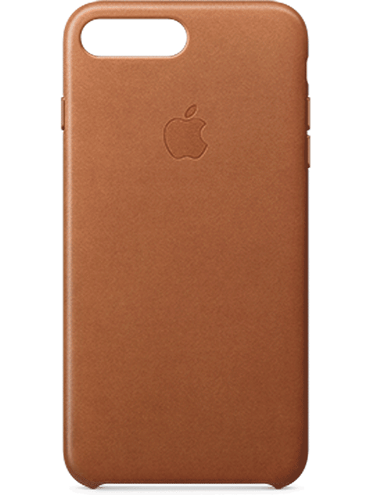 Apple iPhone 7 Plus Leather Case Brun