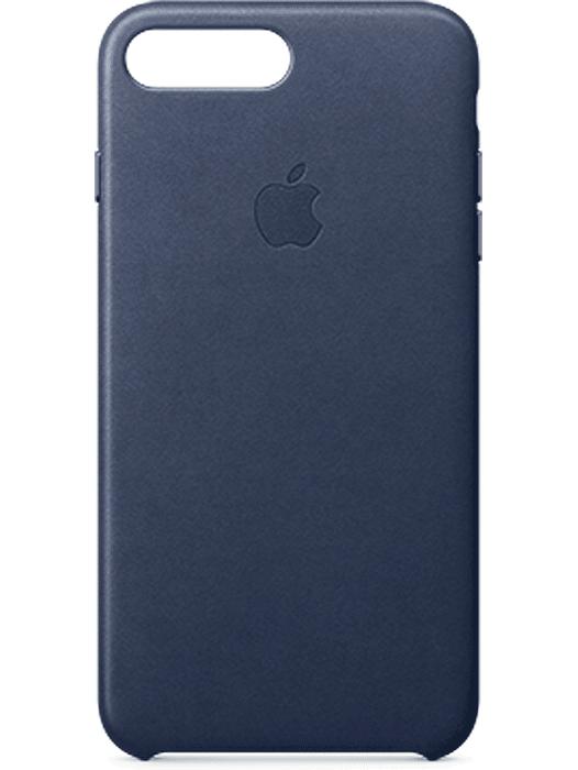 Apple iPhone 7 Plus Leather Case Mørk blå