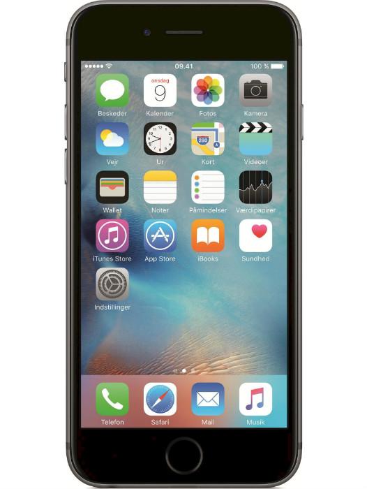 iPhone 6s 128GB Stellargrå
