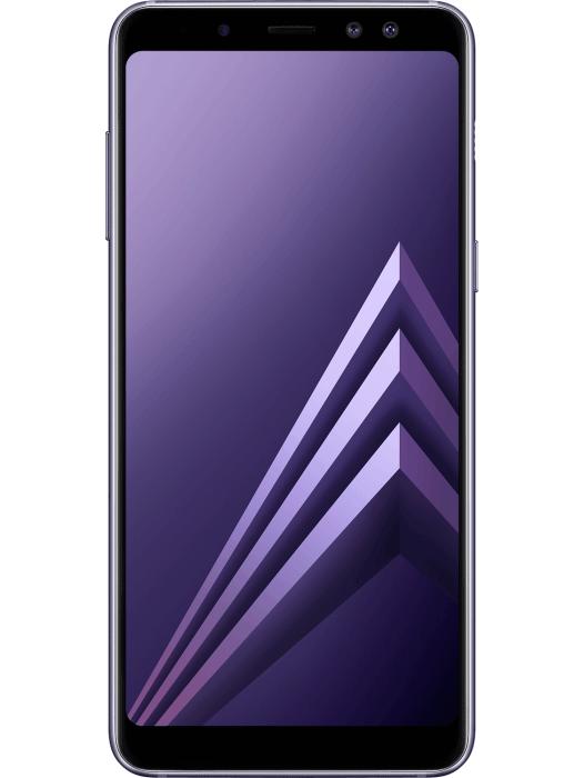 Galaxy A8 Orkidégrå