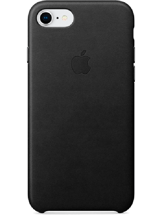 iPhone 7/8 Leather Case Svart