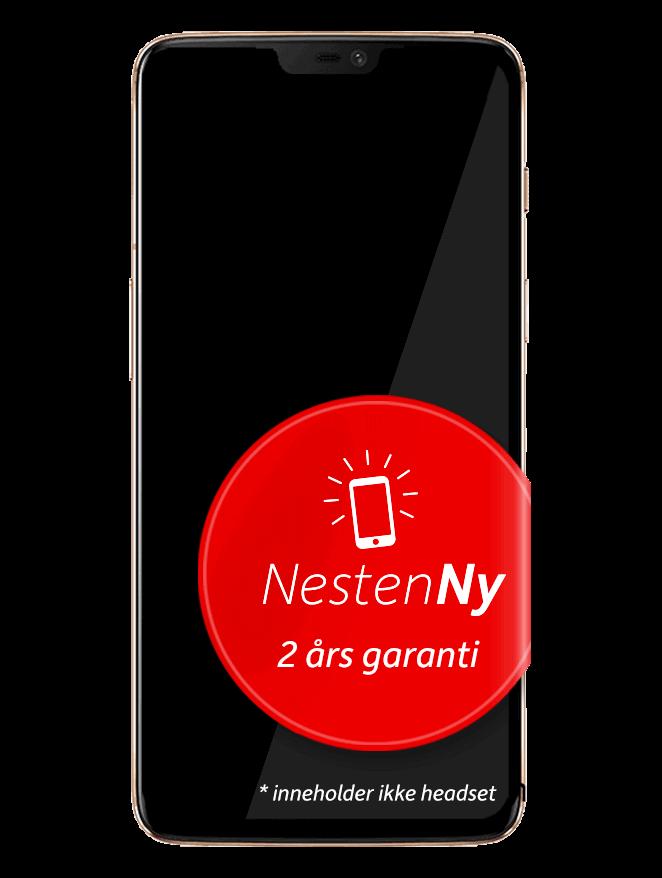 OnePlus 6 - 128 GB Hvit NestenNy