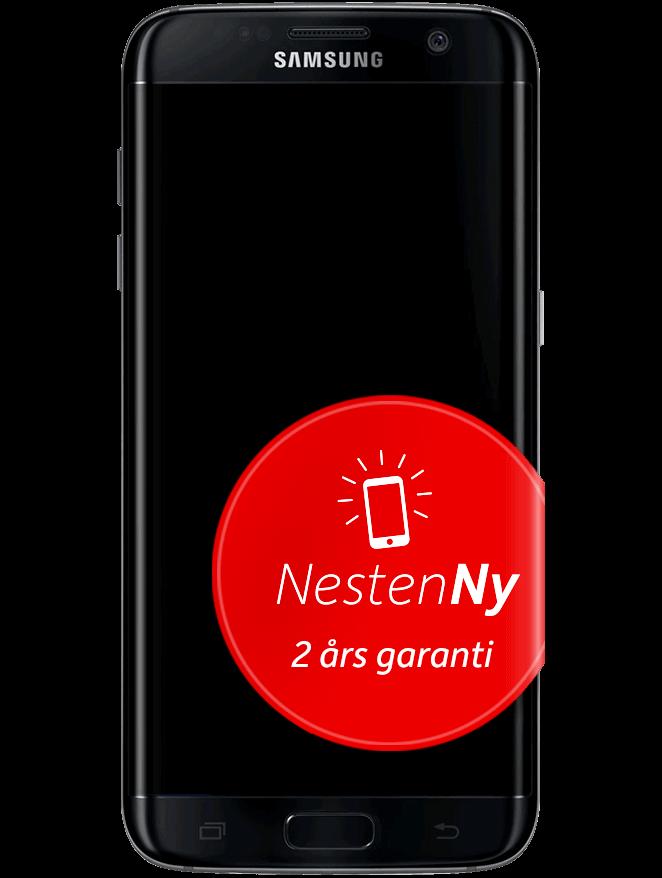 Galaxy S7 Edge Svart NestenNy