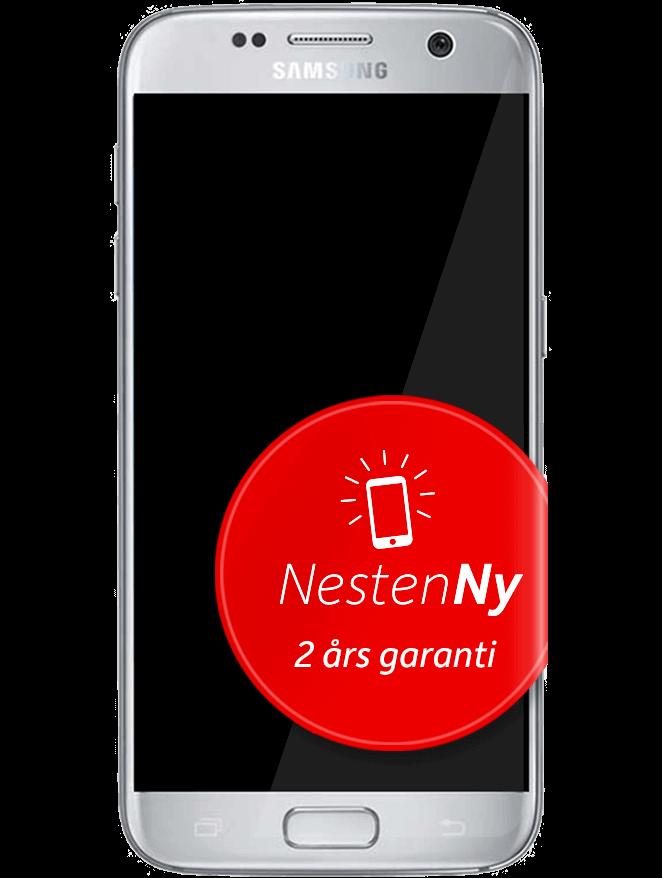 Galaxy S7 Sølv NestenNy