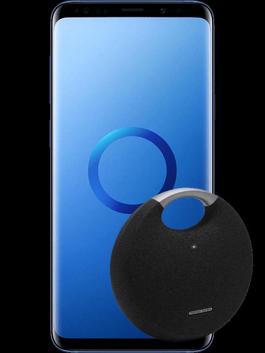 Galaxy S9+ Korallblå