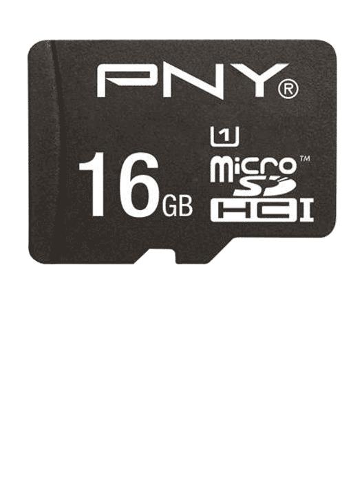 MicroSD med adapter 16GB