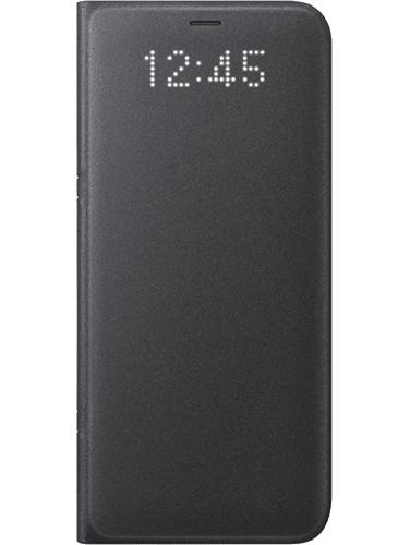 LED Cover Galaxy S8 Svart
