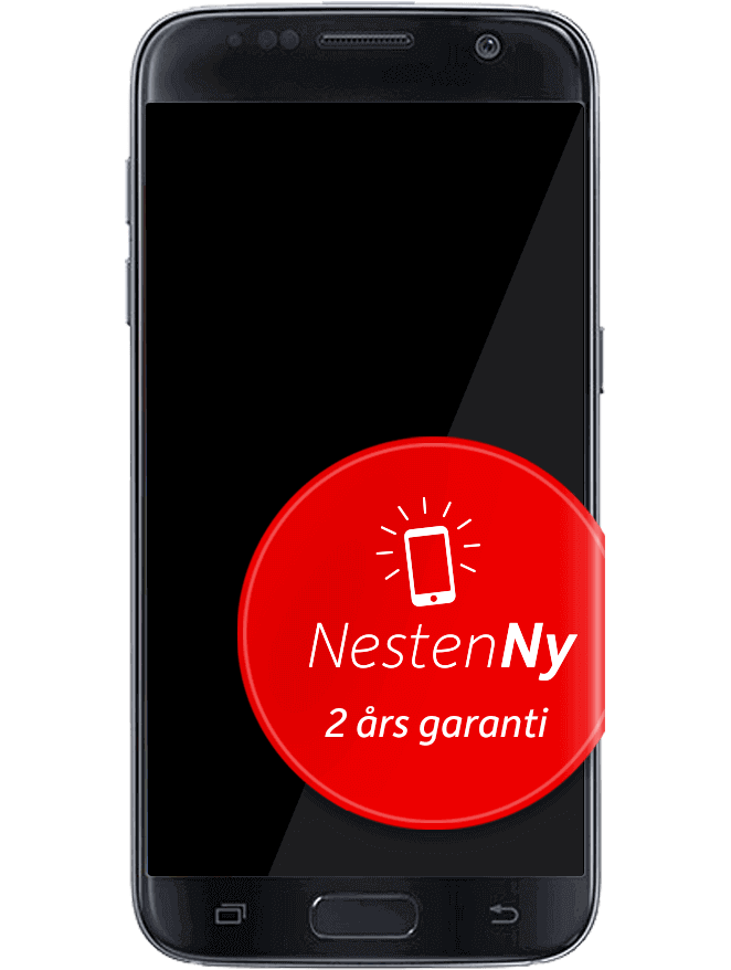 Galaxy S7 Svart NestenNy