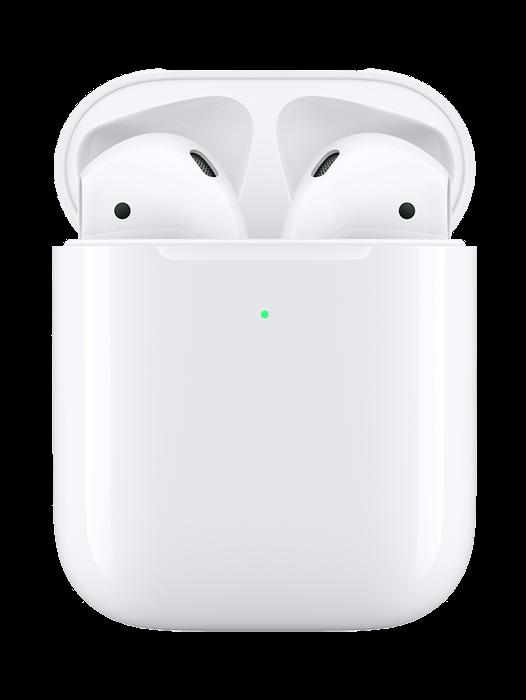 Apple AirPods med trådløst ladeetui