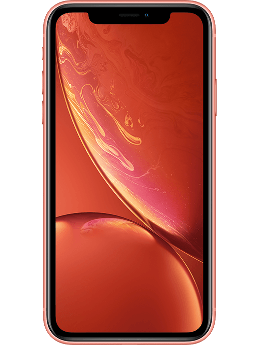 iPhone XR 64 GB Korallrød