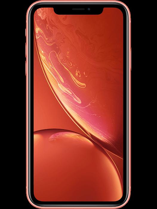 iPhone XR 64 GB Korallrød