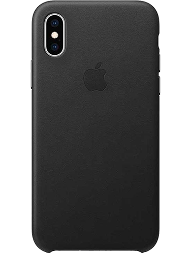 iPhone Xs skinndeksel Svart