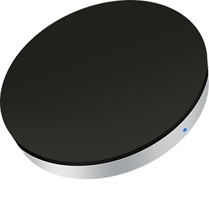 Zens Single Wireless Charger Svart