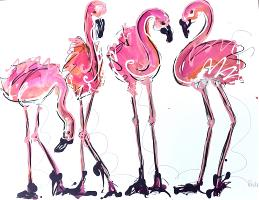 Fun Flamingos