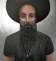 El hombre del sombrero negro
