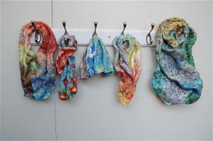 Multi-coloured Scarves