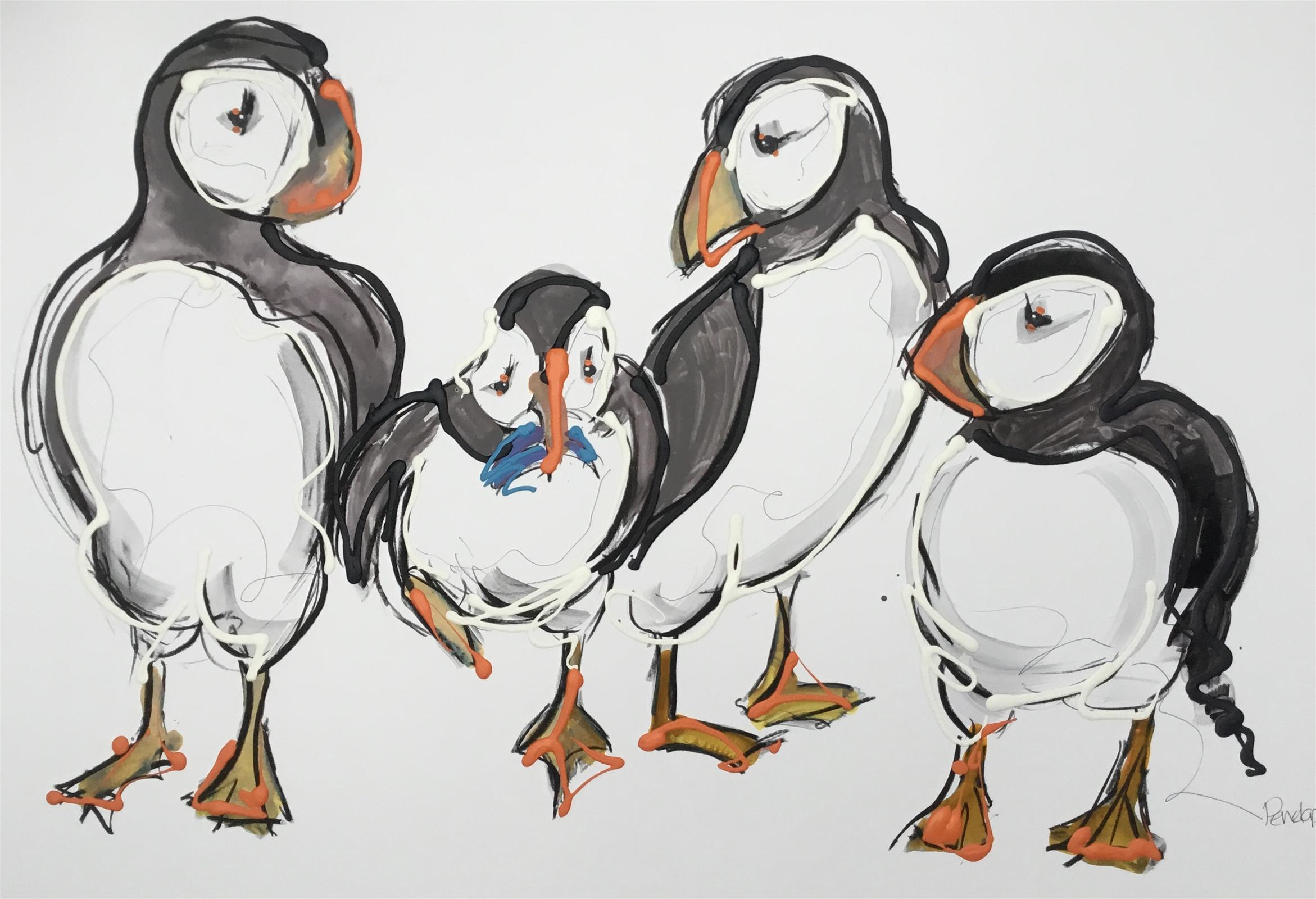 Family Puffin