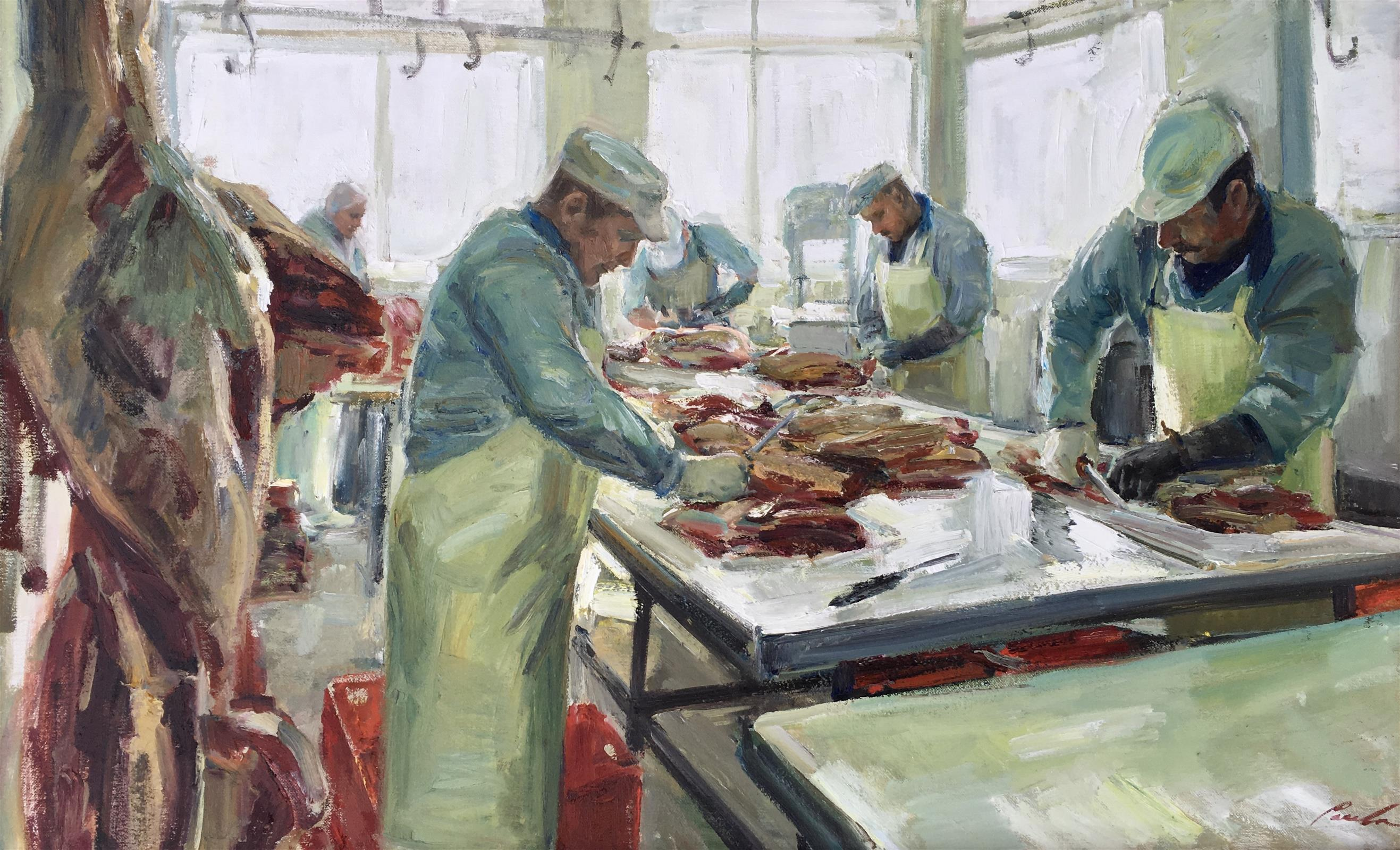 Morninglight at the butcher