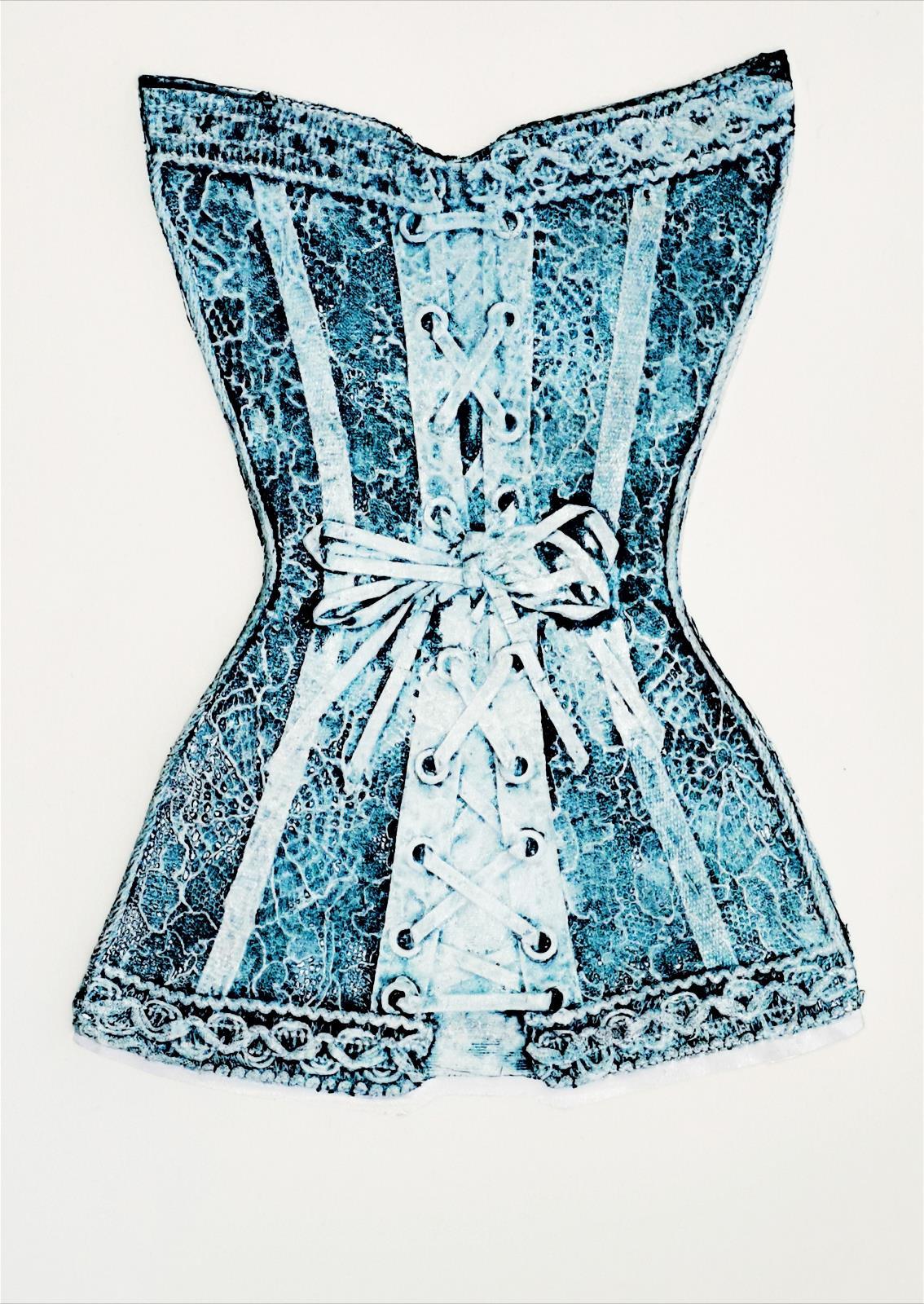 Blue Corset