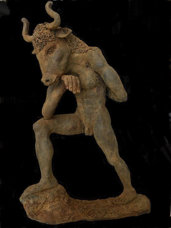Minotaur Thinker