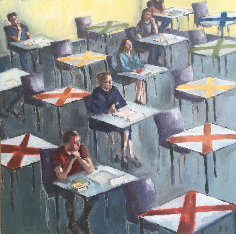 Exam Hall 2021 (unframed)
