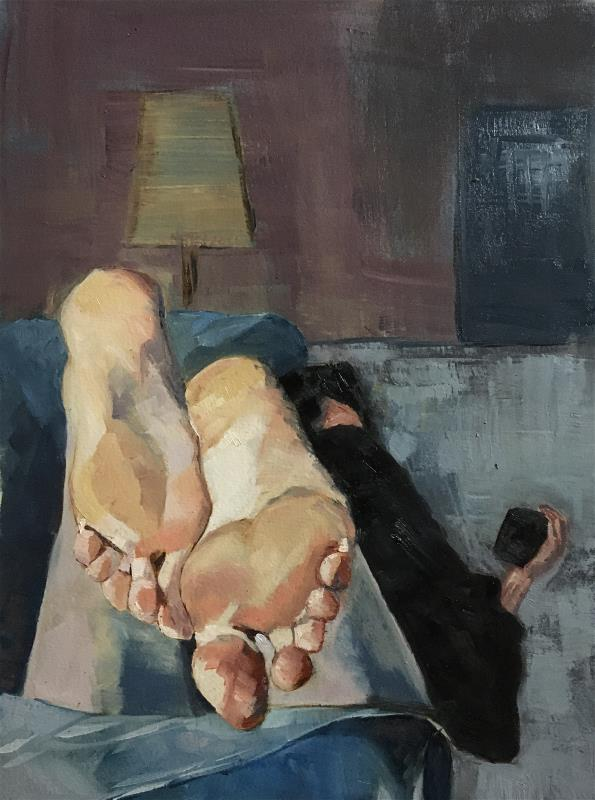 Sleepy feet