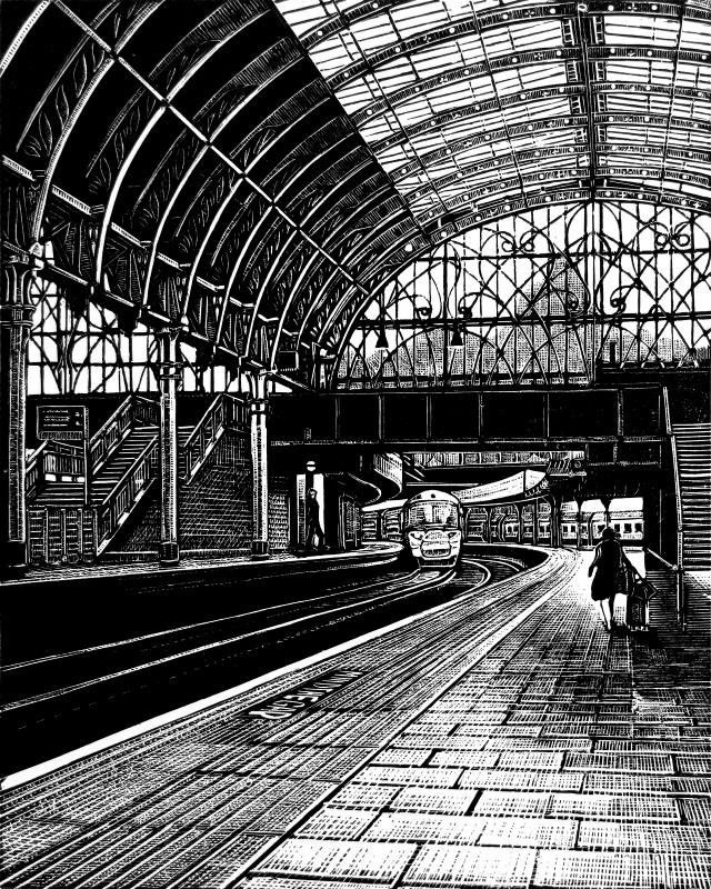 Paddington Station: Platform 8