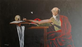 S. Jerome - After Caravaggio