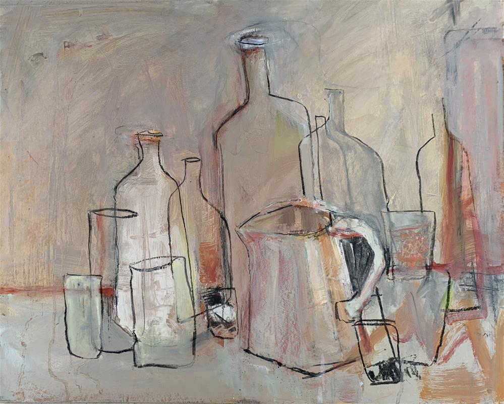 BOTTLES AND JUG
