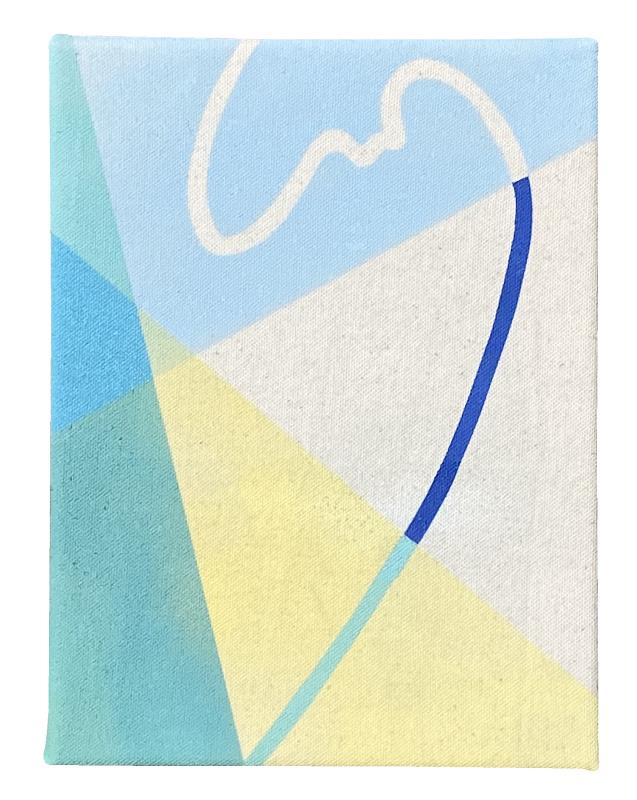 Small Boundaries Series (Blue II): Edition of 5, 3 available