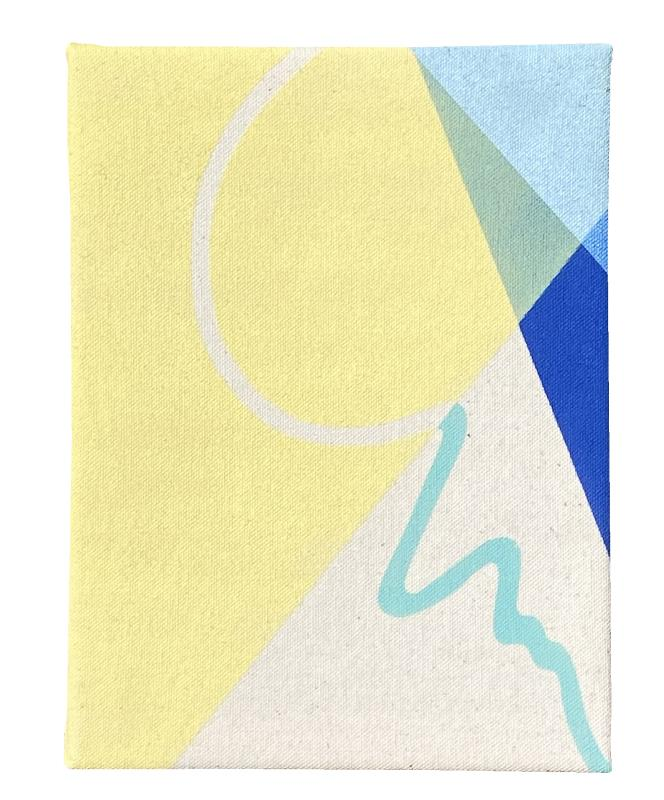 Small Boundaries Series (Blue III): Edition of 5, 3 available
