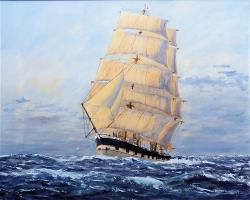 Lady Elizabeth bound for Valparaiso round the Horn