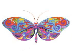 Jazzy Butterfly