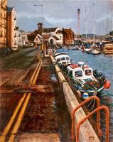 Peel Harbour, Isle of Man