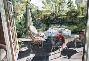 Teatime on the Verandah