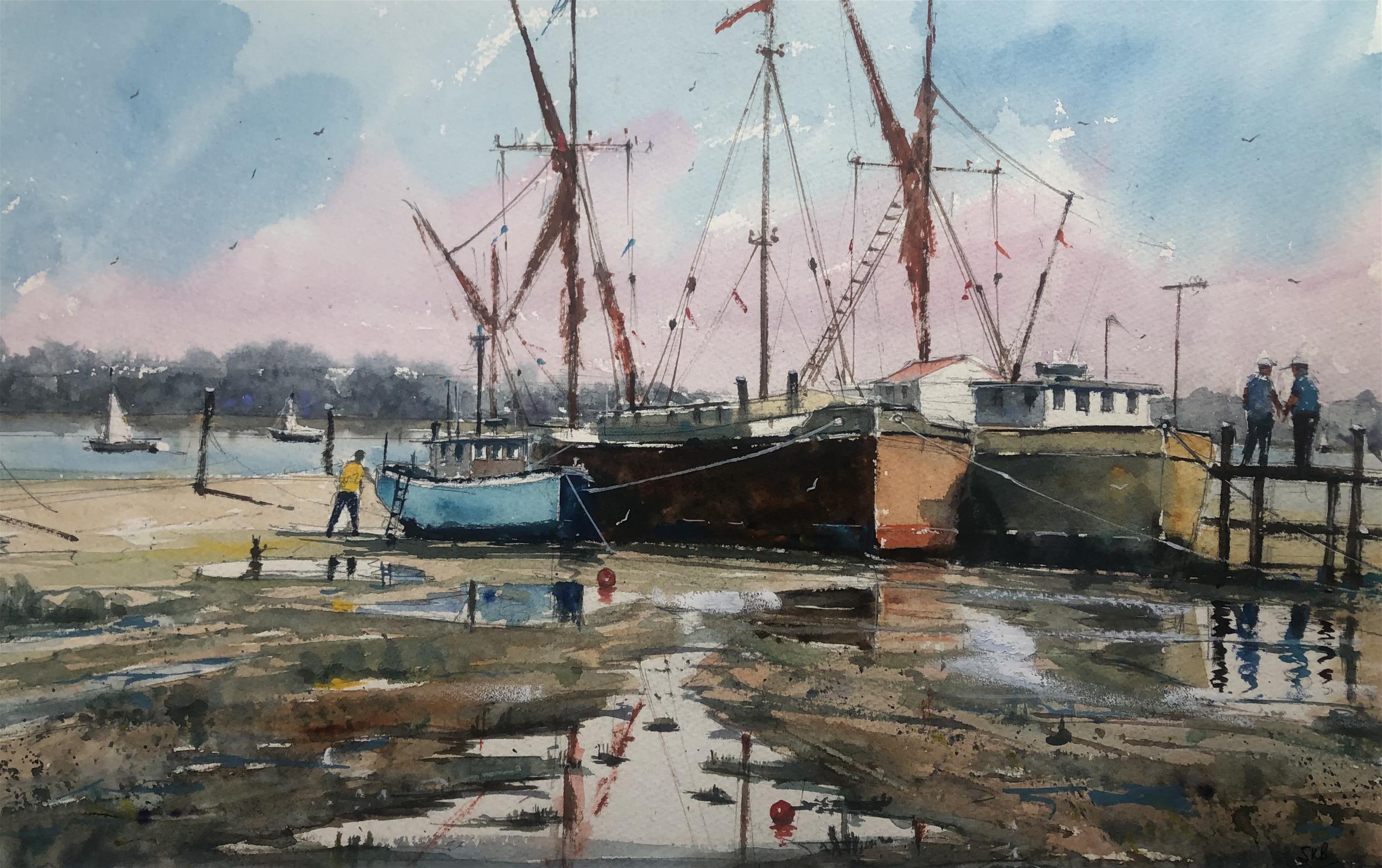 Boats at Pin Mill