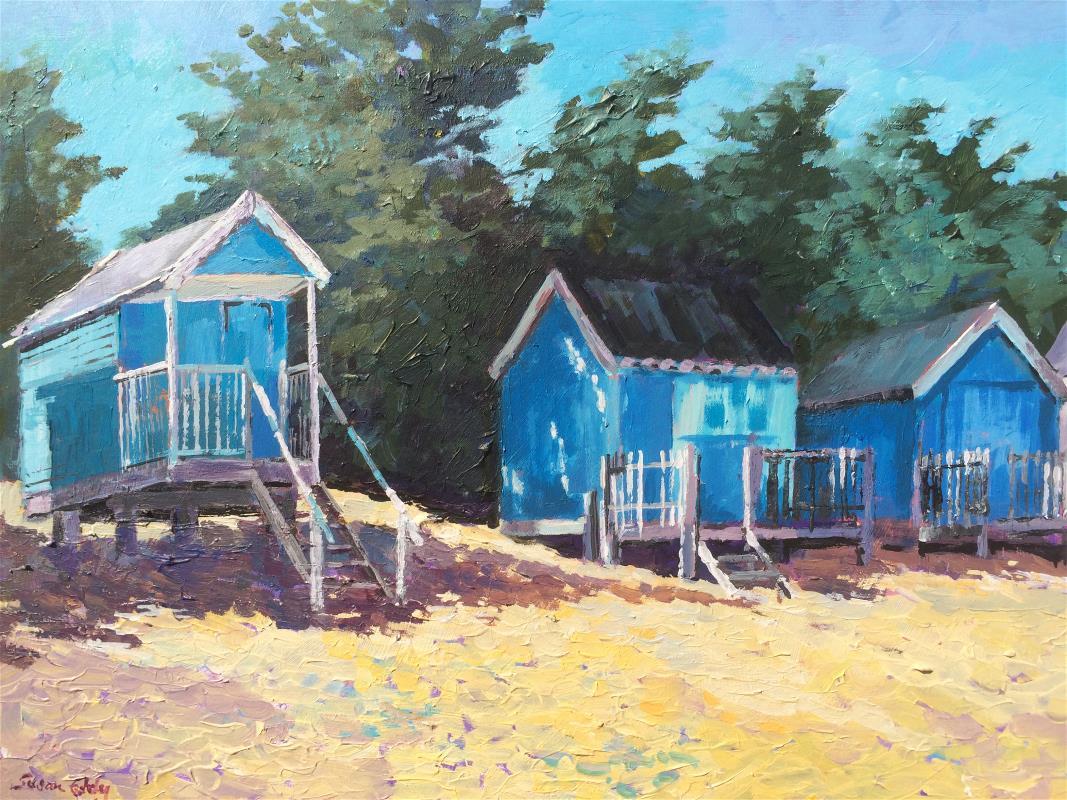 Blue Beach Huts, Wells