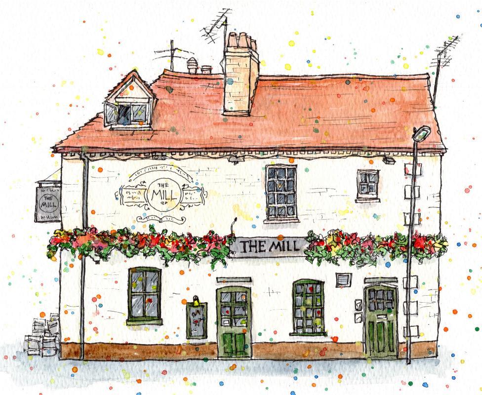 The Mill Pub, Cambridge