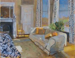 Sunlight and Orange Cushions