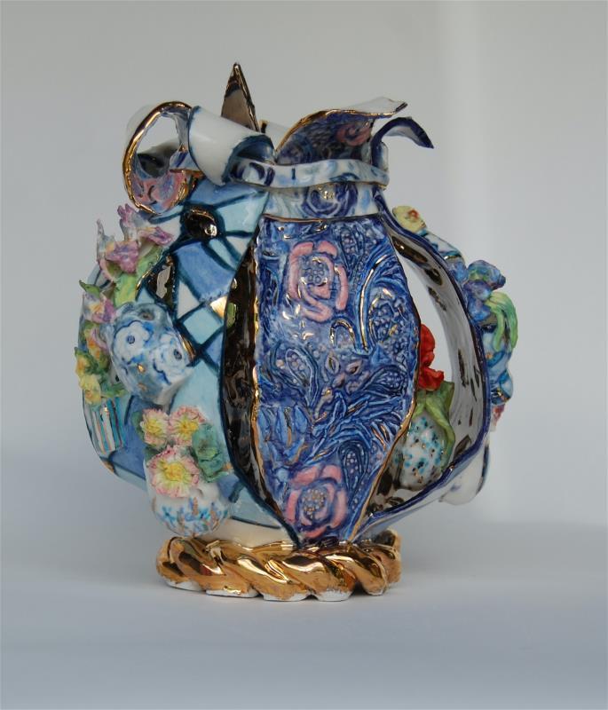 The Blue and White Vase Vase