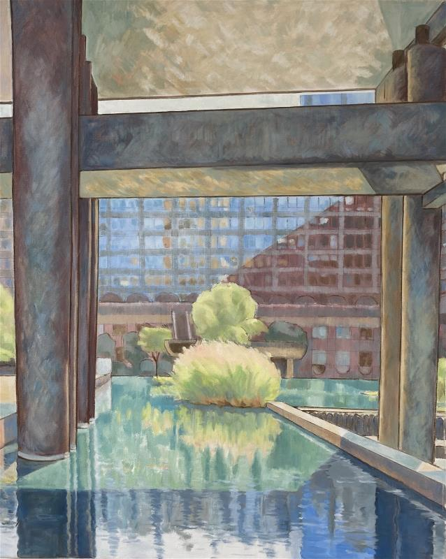 Reflections at the Barbican Centre