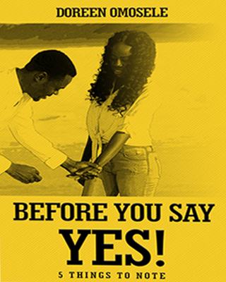 BEFORE YOU SAY YES
