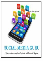 SOCIAL MEDIA GURU: How to make money on Facebook and Twitter